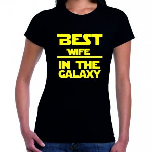 best wife in the galaxy póló
