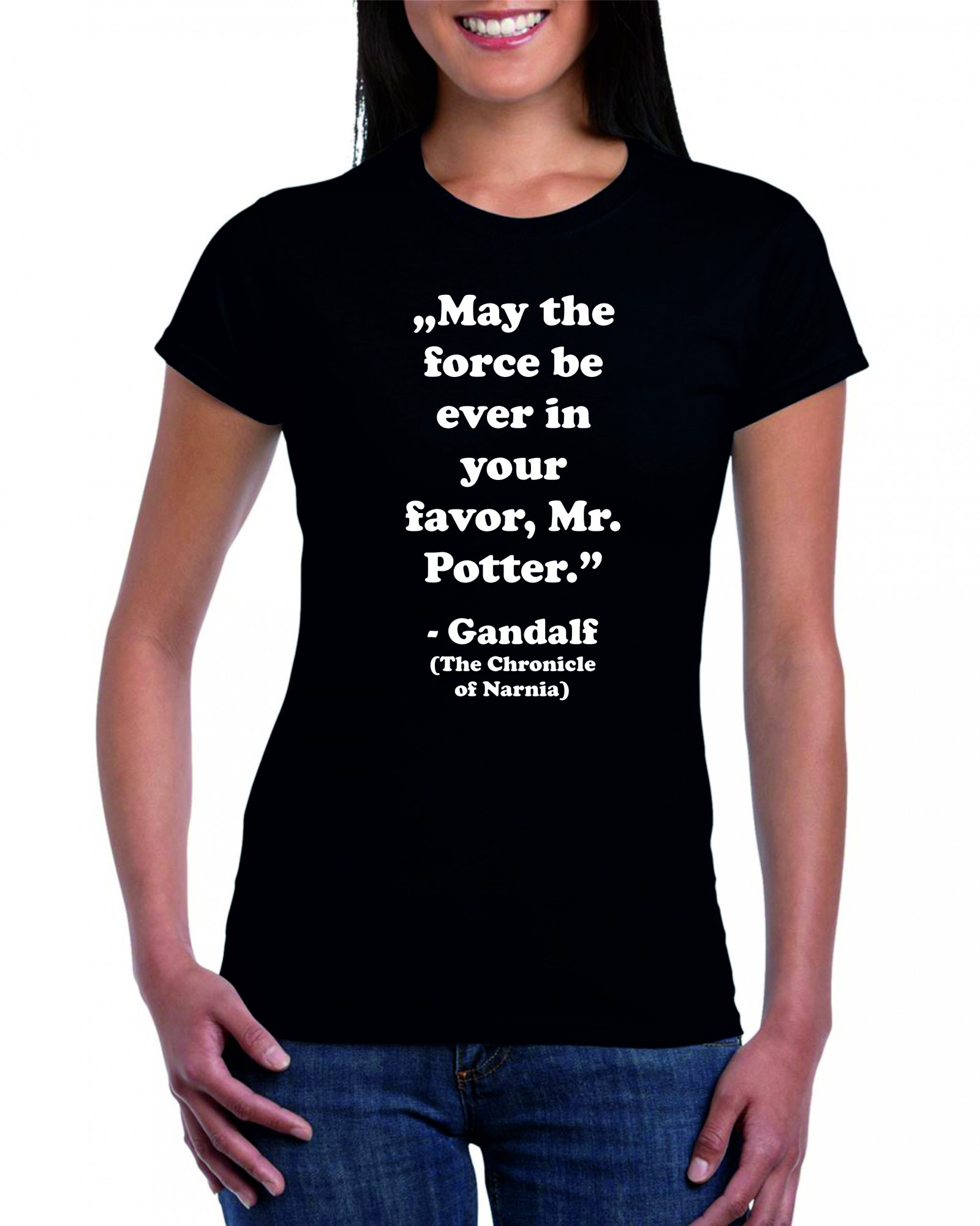MAY THE FORCE BE EVER IN YOUR FAVOR MR POTTER GANDALF THE ...