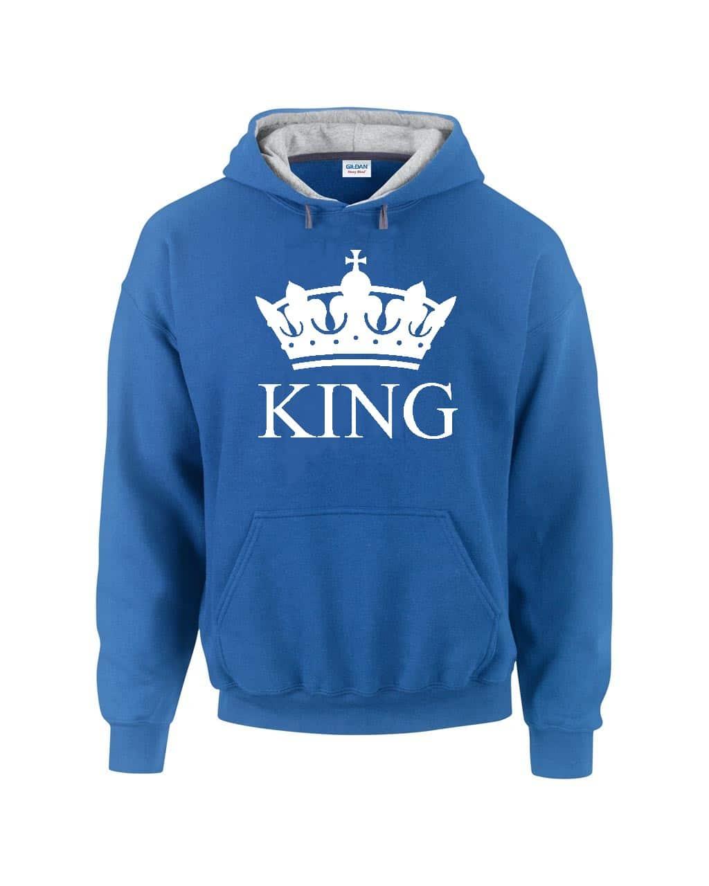 King kapucnis pulóver  ee4dacbdd8