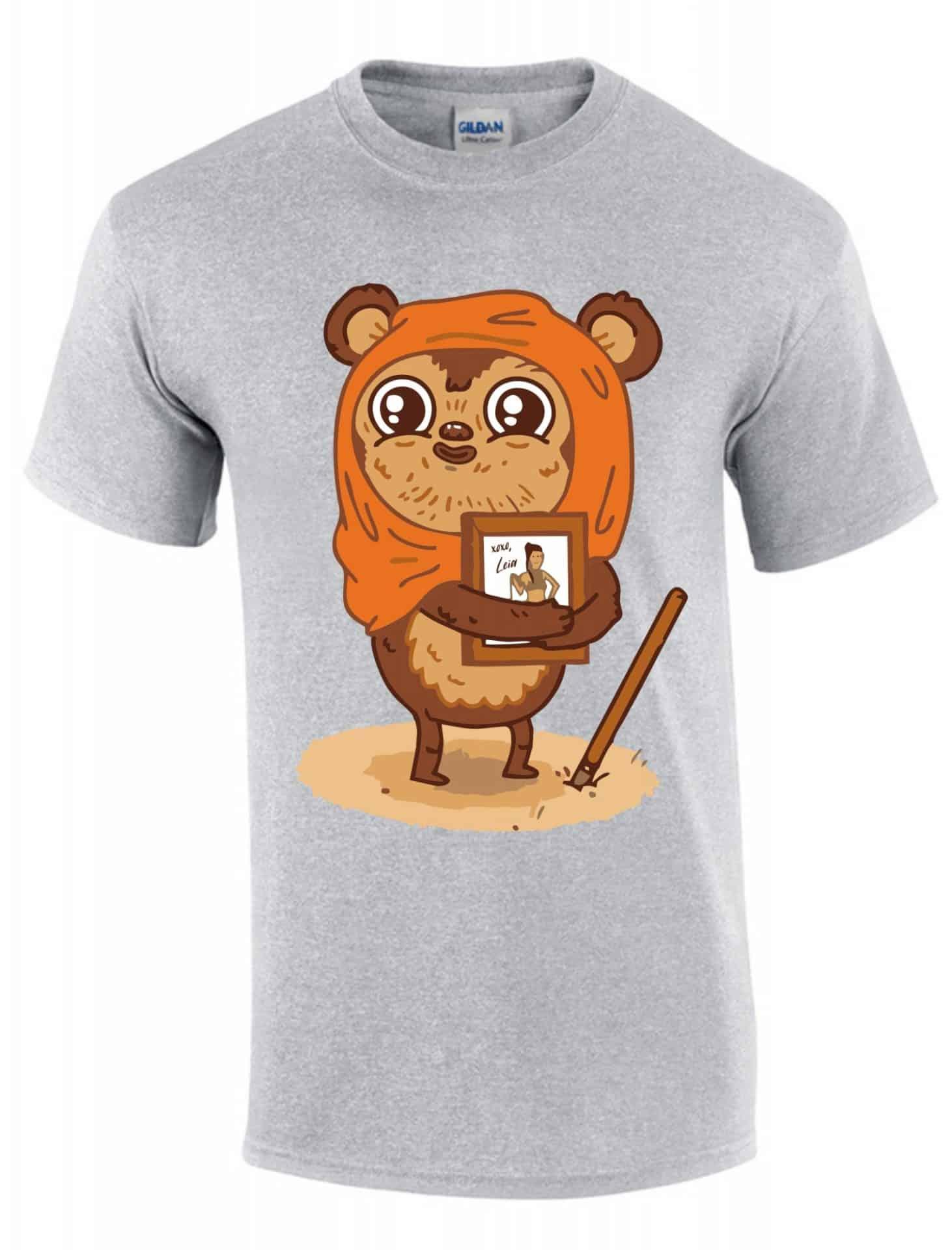 76a16cc5c2 Ewok maci Leia gyerek póló | Póló ügynökség