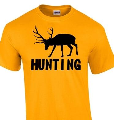 4286a00805 Szarvas vadász póló   Póló ügynökség