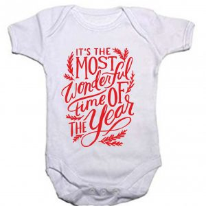 It s The most Wonderful time of the year Baby body 5c869b71a3