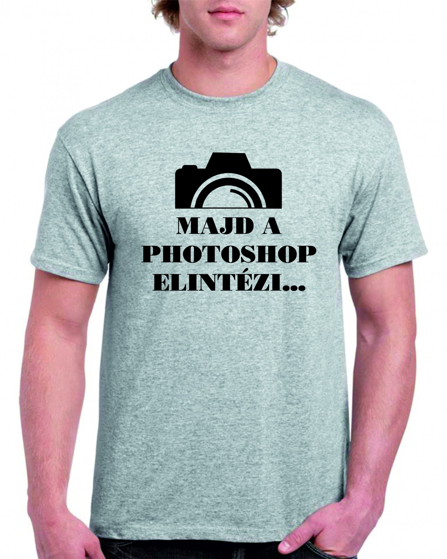 1d8887fb98 Majd a Photoshop elintézi Férfi póló | Póló ügynökség