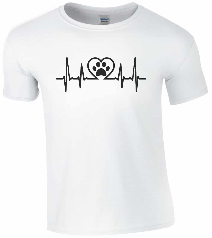 c79fd3c1c6 Kutya szív férfi póló | Póló ügynökség