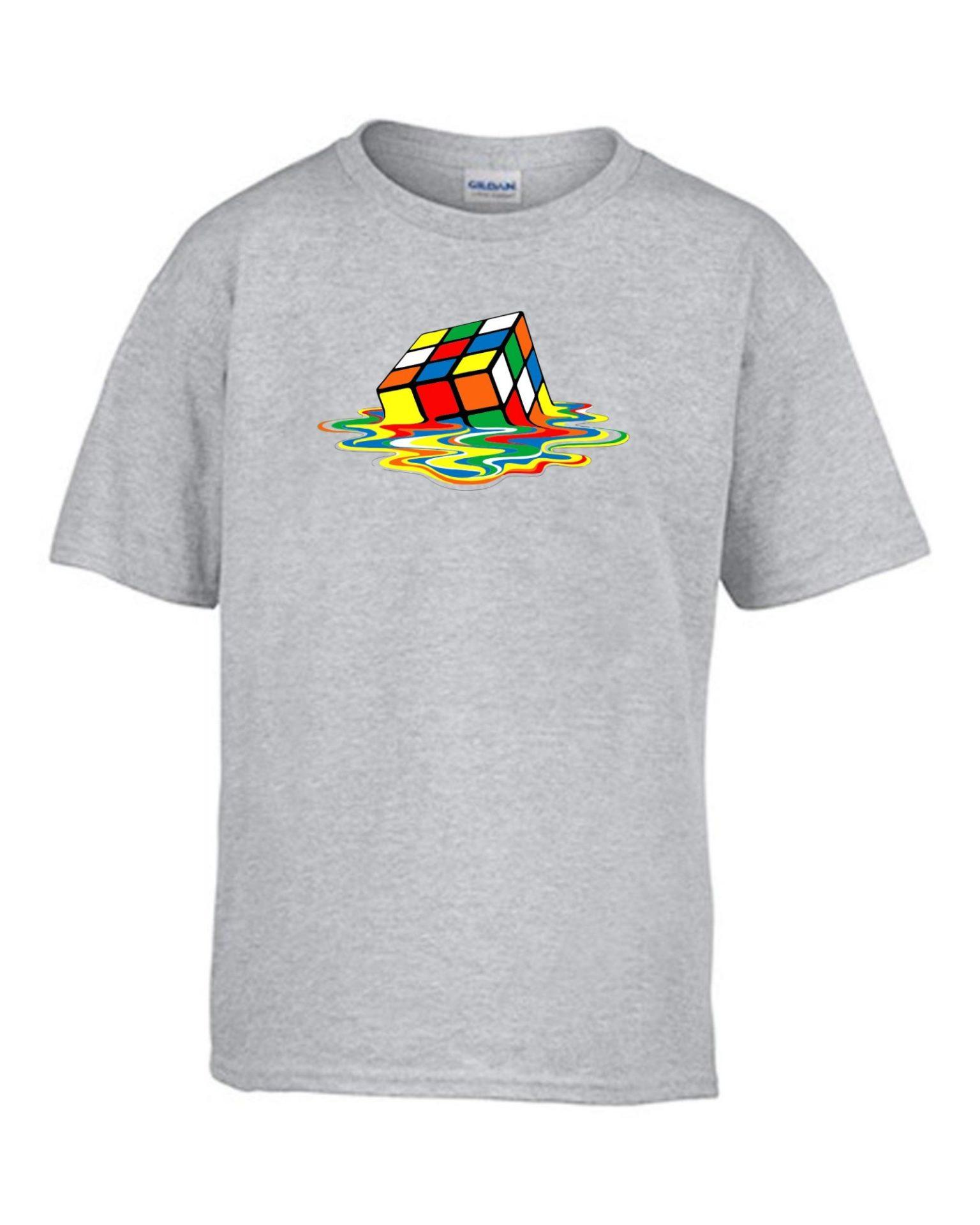 649758a4b4 Rubik kocka gyerek póló | Póló ügynökség