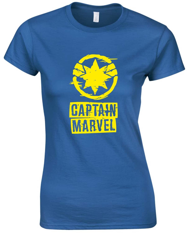 4bbbd63605 Captain Marvel Női póló | Póló ügynökség