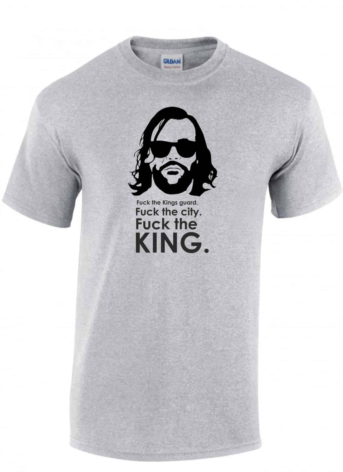 7d703a783c FUCK THE KING FÉRFI PÓLÓ | Póló ügynökség