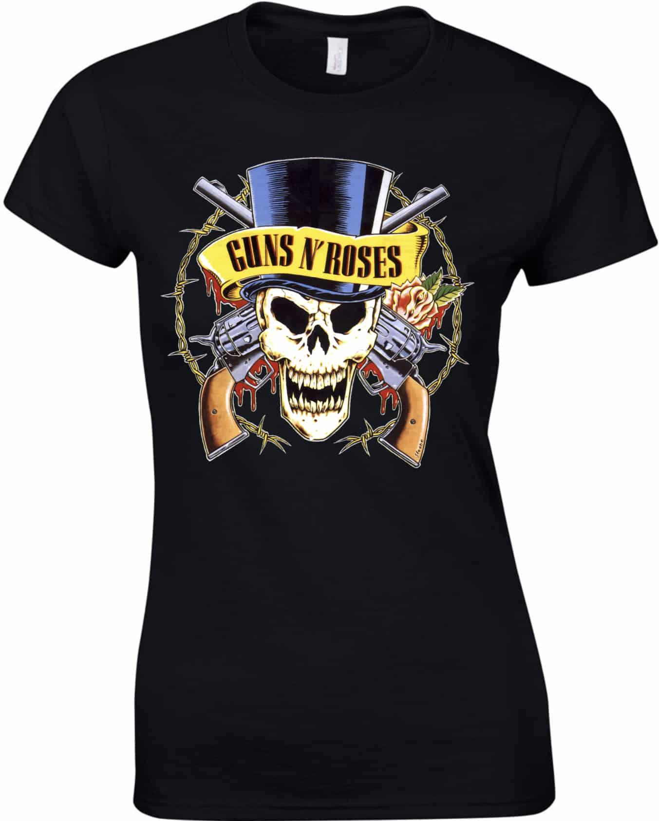 Guns n  Roses női póló  5e40f94890