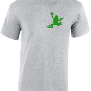 1c21dfcd82 Hímzett béka férfi póló