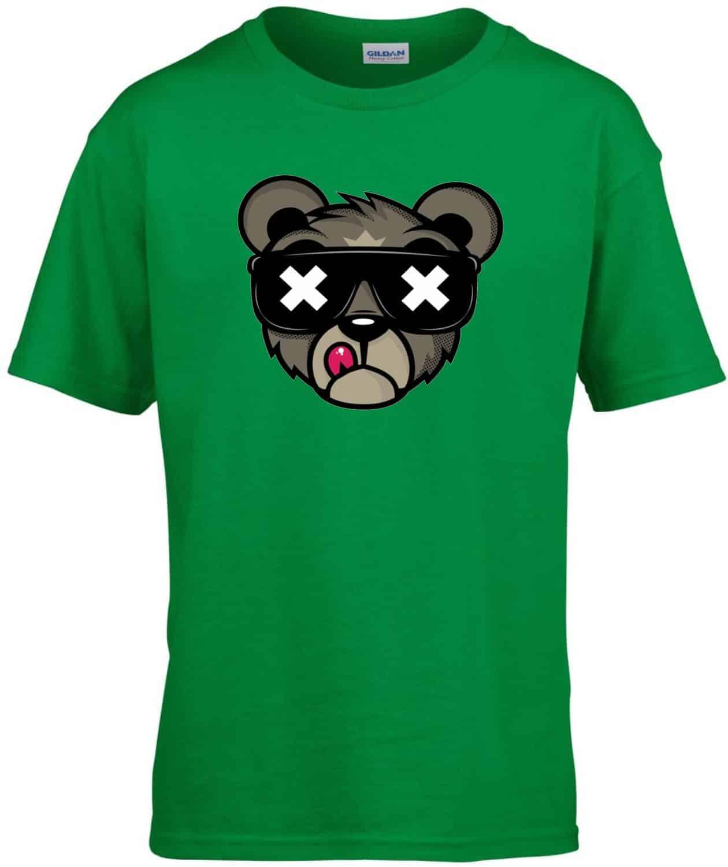 2d9a99b1cb Medve fej gyerek póló   Póló ügynökség