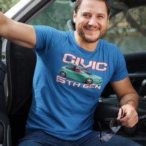 Honda férfi póló