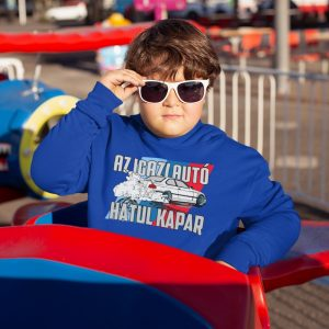 Gyerek autó-motor pulóver